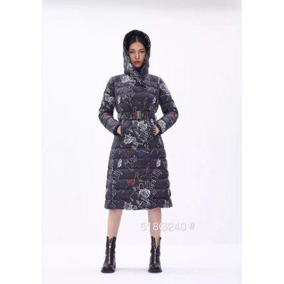 反季节女装品牌折扣批发,乐素羽绒服实体店客户的好货,羽绒服尾货一手货源批发