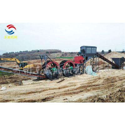 合肥山沙制沙机械同时破碎的筛分水洗设备