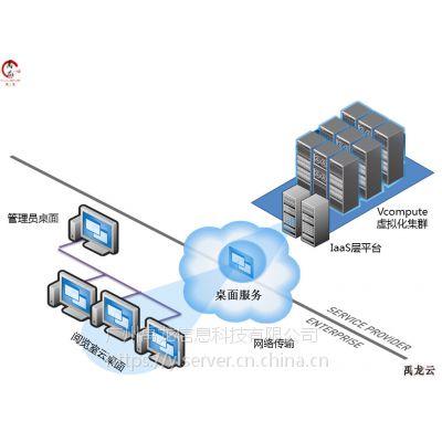 桌面虚拟化解决方案 办公云终端 单机多用户系统 YL106 禹龙云 桌面虚拟化 云办公解决方案