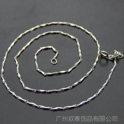 925纯银银项链 配饰吊坠银饰首饰品 纯银配件  首饰配件