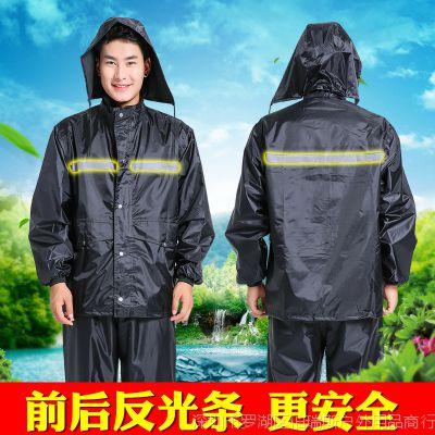 BRS成人雨衣雨裤套装双层加厚防水防风男女分体徒步电动车摩托车