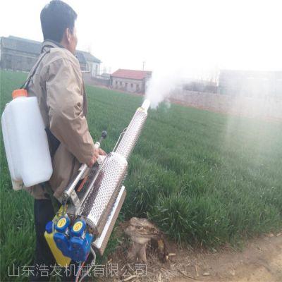 浩发高压动力喷雾机 农民朋友打药弥雾机福利