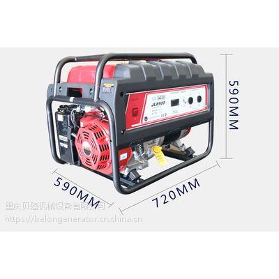 JL8500ETS嘉陵6.5KW等功率汽油发电机组嘉陵M款6.5KW3D汽油发电机