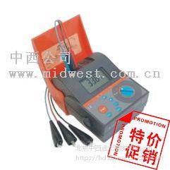 中西 接地电阻测试仪(标配) 型号:BDMI2125库号:M137622