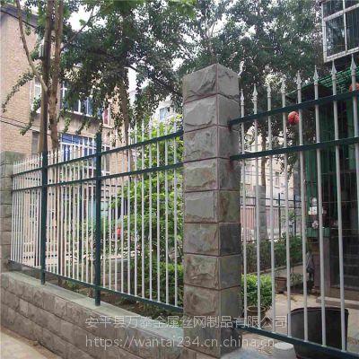 创业基地围墙护栏 公园外墙栏杆 铁艺栏杆厂家