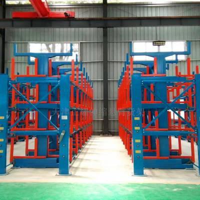 深圳重型管材货架规格表 伸缩悬臂货架承重 型材库专用