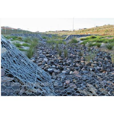 河道护岸铅丝笼-热镀锌铅丝格宾石笼-铅丝笼护脚安装步骤解析