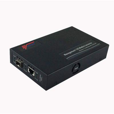 厂家直售10G单台网管收发器