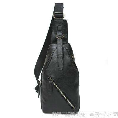 男士胸包新款斜挎包运动单肩包男韩版背包包手机包烟包