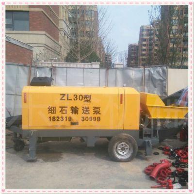 大型大骨料混凝土输送泵水泥输送泵车喷湿机