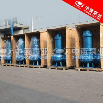 造纸厂用耐阻塞型潜水排污电泵