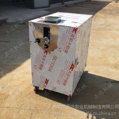 江米条膨化机 手动剪粽子形膨化机 12马力柴油机配膨化机