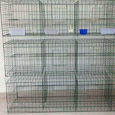 3层1.7高鸽笼子制作组装 养殖新型立式横拉门笼具