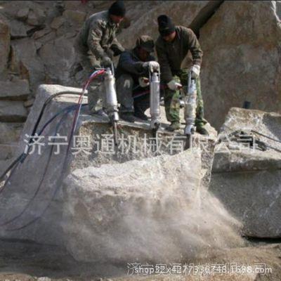 岩石劈裂机 柴油动力岩石劈裂机 矿山石头分裂机现货