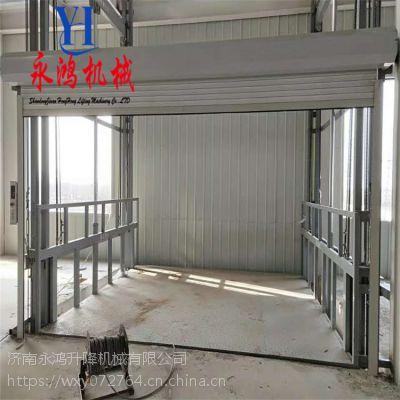 安徽铜陵液压升降梯价格,固定升降平台,小型升降货梯厂家