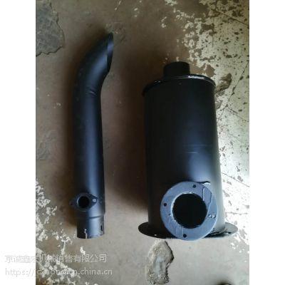 供应LG953/LG956临工装载机消声器总成潍柴立式消声器