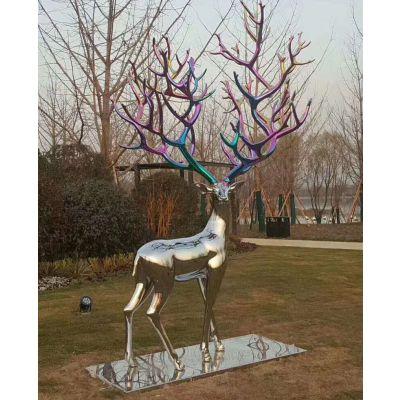 不锈钢雕塑雕像园林景观城市广场塑像金属工艺品|鑫广意