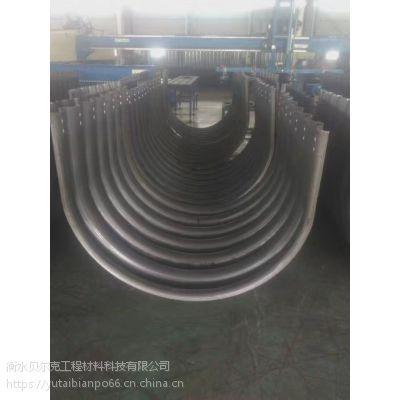 河北贝尔克钢制波纹管涵 直径3米壁厚4.5毫米金属波纹涵管 Q235A涵洞 喷涂沥青 热镀锌工艺