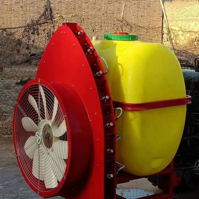 热销志成果园专用风送式打药机 悬挂式喷药机 拖拉机后置喷雾机