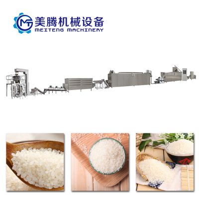山东膨化机供应商速食大米设备美腾
