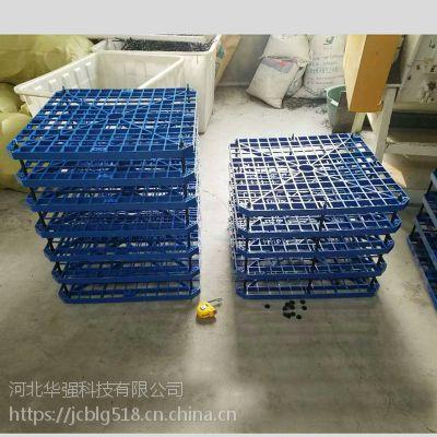 PP多孔塑料网格板 正方形带穿杆 河北华强