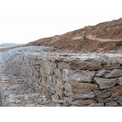热镀锌格宾网箱河道防护工程施工格宾网石笼河道防护优势