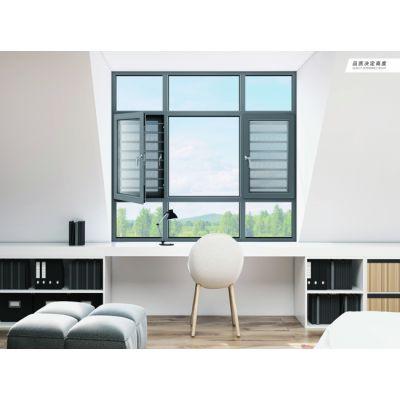 广东兴发铝业帕克斯顿门窗系统平开带纱一体窗系统 整套窗