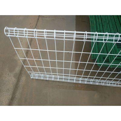 现货批发公路护栏网 定制养护站隔离栅 1.8米高双边丝护栏网