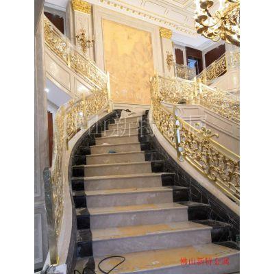 缙云楼梯新型铜雕刻楼梯 别墅护栏设计分析