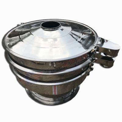 厂家直销面粉优质圆形振动筛 可定制单层/多层多出口筛分机