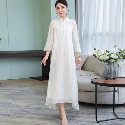 广州品牌折扣女装素莹真丝连衣裙一手货源批发