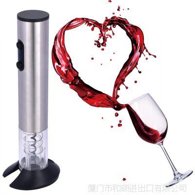 金属管电动开瓶器红酒开瓶器带底座 全自开瓶器带底座 可定制