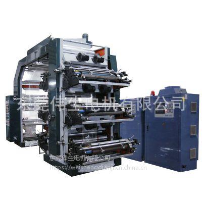厂家批发 桥式无纺布印刷机 东莞无纺布双色印刷机