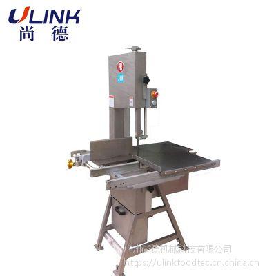 大型落地式锯骨机ULINK-LM-820 适用于各类带骨物料、冷冻肉等切割。