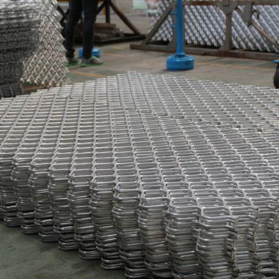 河南 兴发铝材厂家直销铝合金防护网 拉网铝型材可深加工