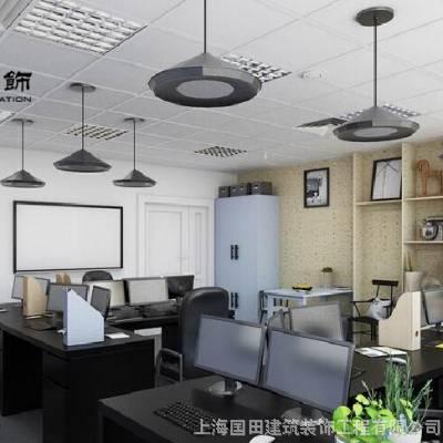上海厂房装修,办公室铝扣板集成吊顶装修施工