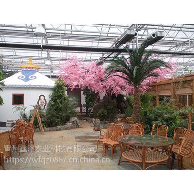 玻璃餐厅温室设计 温室餐厅适合建多么高