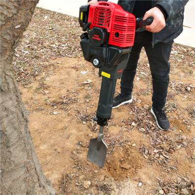 爆款 单人汽油挖树机 树木移栽机图片 型号规格