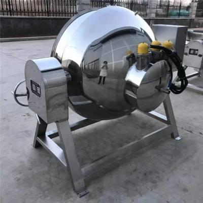 厂家直销不锈钢炒锅 可倾斜出料方便夹层锅