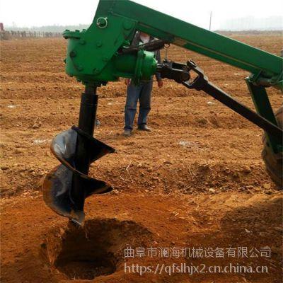 汽油植树挖洞机 厂家直销 山地栽树挖坑机 大功率拖拉机后悬挖坑机