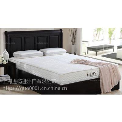 从天津进口床垫报关欧洲制造