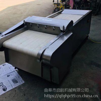 酱菜蔬菜切片机 不锈钢多用韭菜切段机 启航新款腊肠切片机