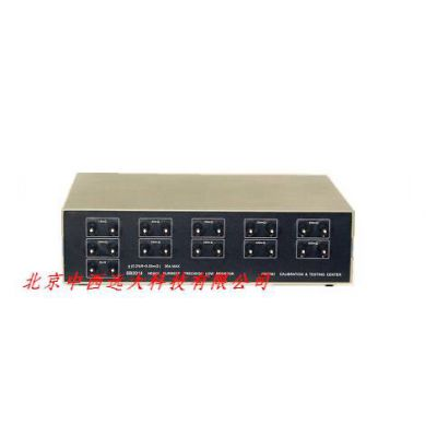 中西(LQS现货)精密大电流低阻箱 型号:JD09-SB2014库号:M397819
