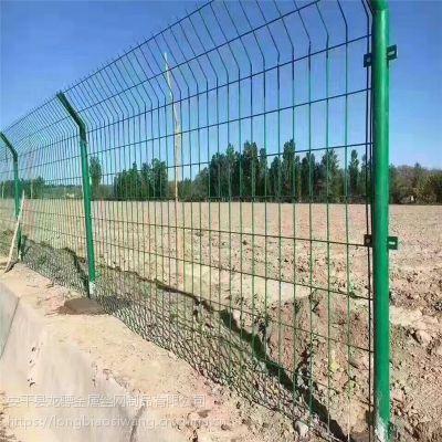 绿色安全防护网 工地施工护栏网 围墙用铁丝护栏网