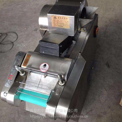电动切丁切段切丝机 660型根茎药材切段机 辣椒切丝切圈机