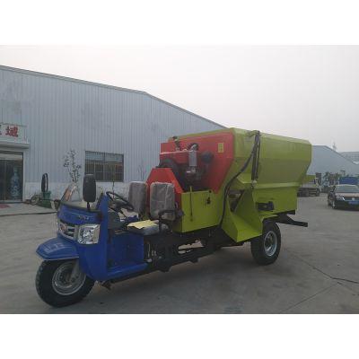 奶牛场搅拌撒料车 养殖设备新能源 多功能TMR撒料车