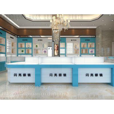 桂林眼镜店装修公司 桂林眼镜店展柜生产厂家 桂林眼镜柜台定制制作