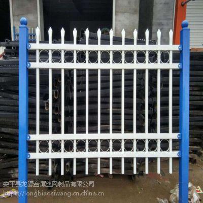 围墙栏杆多钱一米 铁艺护栏 小区围墙栅栏