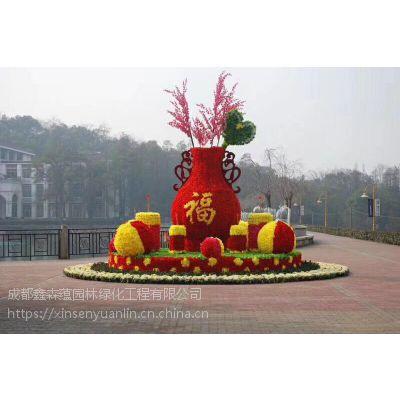 庆祝五一劳动节主题雕塑,成都仿真绿雕厂家直销推广