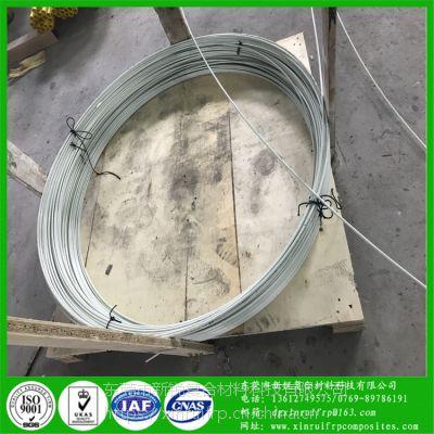 8mm玻璃纤维棒 耐腐蚀性能好 长度无限玻纤棒打圈使用用途广玻纤杆厂家